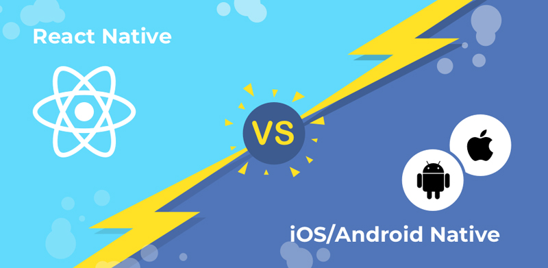 React Native vs Android and iOS Native App Development